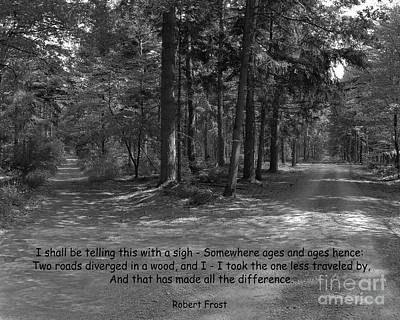 12a- Robert Frost  Art Print
