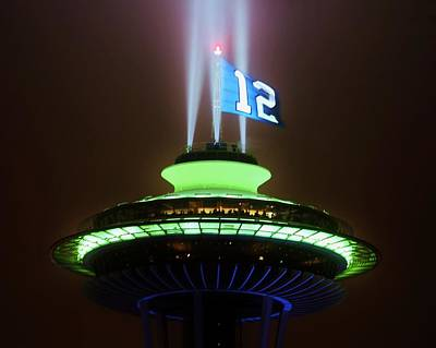 Photograph - 12th Man Needle by Benjamin Yeager