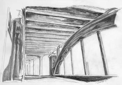 Edward Hopper - 12th Street Bridge by Dillon James