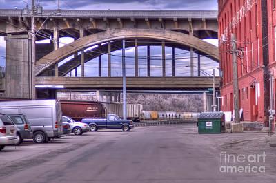 Photograph - 12th Street Bridge by Liane Wright