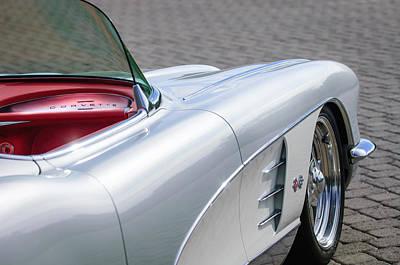 1960 Chevrolet Corvette Art Print