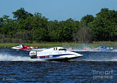 2-1-2013 Photograph - 13 A Boat Port Neches Riverfest by D Wallace