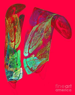 Pasta Al Dente - Abstract futuristic shape by Odon Czintos