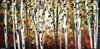 Painting - Abstract Landscape by Jolina Anthony