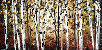 Abstract Landscape Art Print by Jolina Anthony