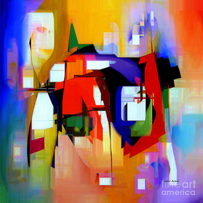 Abstract Series Iv Art Print
