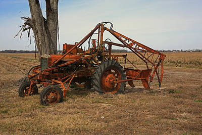 Photograph - Antique Tractor  by Ronald Olivier
