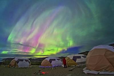 Observer Photograph - Auroral Display by Juan Carlos Casado (starryearth.com)