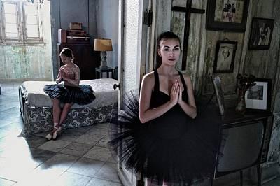 Ballerinas In Cuba Art Print