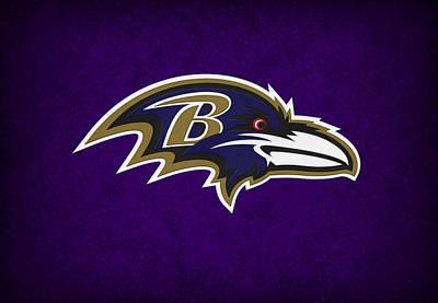 Baltimore Ravens Art Print by Joe Hamilton