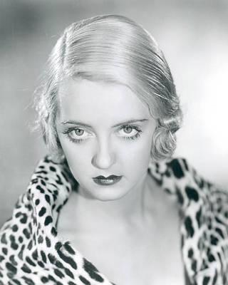 Bette Davis Photograph - Bette Davis by Silver Screen