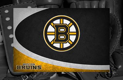Boston Bruins Art Print by Joe Hamilton
