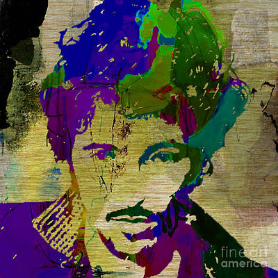 Bruce Springsteen Mixed Media - Bruce Springsteen by Marvin Blaine