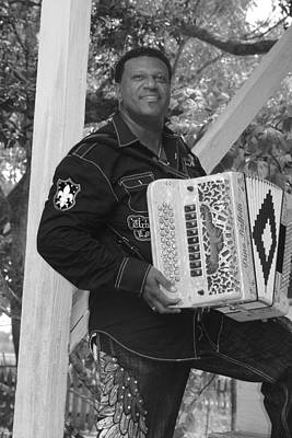 Photograph - Cajun Music by Ronald Olivier