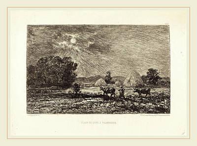 Charles-françois Daubigny French, 1817-1878 Art Print by Litz Collection
