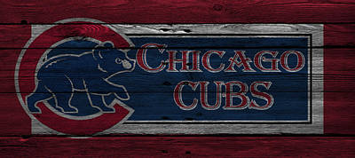 Galaxies Photograph - Chicago Cubs by Joe Hamilton
