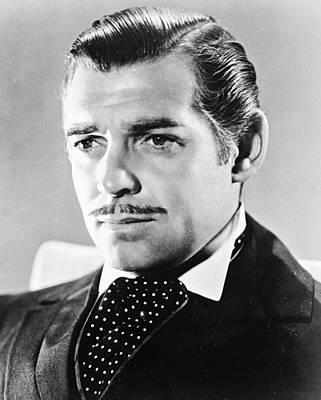 Clark Gable Photograph - Clark Gable by Silver Screen