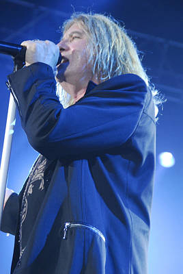 Def Leppard Photograph - Def Leppard by Jenny Potter