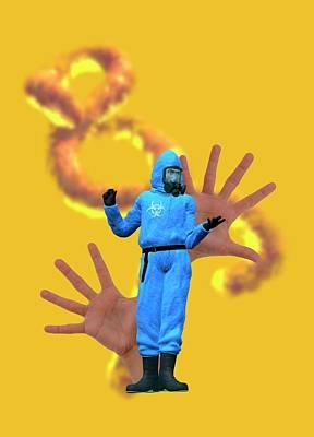 Ebola Epidemic Art Print by Victor Habbick Visions