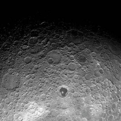 Terminator Photograph - Far Side Of The Moon by Detlev Van Ravenswaay