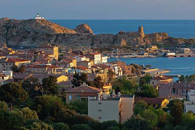 Haute Photograph - France, Corsica, La Balagne, Ile by Walter Bibikow