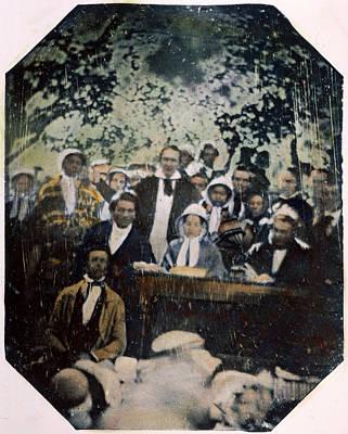 Quaker Photograph - Frederick Douglass by Granger