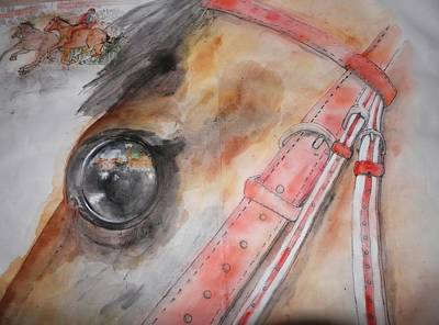 Palio Painting - going to Siena for il Palio album by Debbi Saccomanno Chan