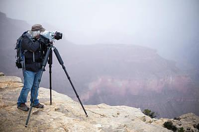 Tripod Photograph - Grand Canyon by Jim West