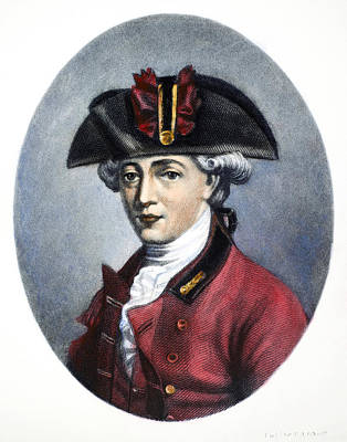 Redcoats Painting - John Andre (1751-1780) by Granger