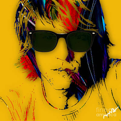 Rock And Roll Mixed Media - Jon Bon Jovi Collection by Marvin Blaine