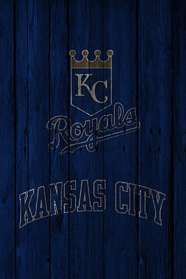 Photograph - Kansas City Royals by Joe Hamilton