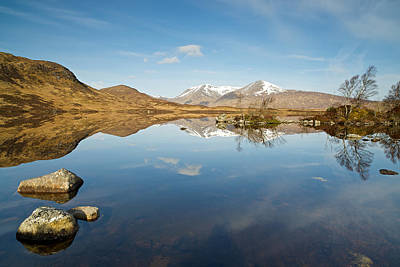 Lochan Na H-achlaise Art Print by Stephen Taylor