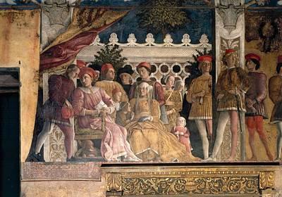 Family Coat Of Arms Photograph - Mantegna Andrea, Decoration by Everett