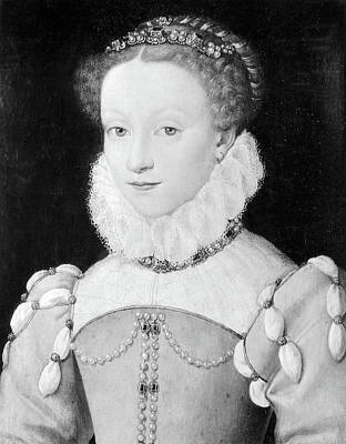 Queen Mary Painting - Mary, Queen Of Scots (1542-1587) by Granger