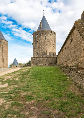 Photograph - Medieval City Of Carcassonne In France by Marek Poplawski