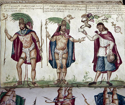 Loincloth Painting - Mexico Spanish Conquest by Granger