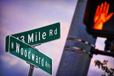 Photograph - 13 Mile Road And Woodward Avenue by Gordon Dean II