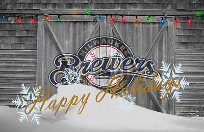 Milwaukee Brewers Art Print by Joe Hamilton