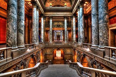 Minnesota State Capitol Art Print