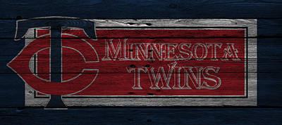 Minnesota Twins Art Print by Joe Hamilton