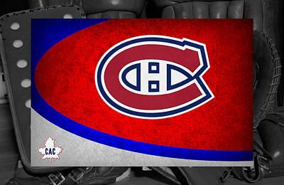 Montreal Canadiens Art Print by Joe Hamilton