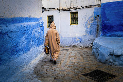 Chefchaouen Photograph - Morocco, Chefchaouen Or Chaouen by Emily Wilson