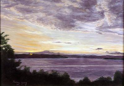 Pastel - Autumn Horizon by Nancy Yang