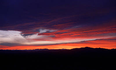 Photograph - Nevada Skies by Frank Romeo
