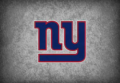 New Goals Photograph - New York Giants by Joe Hamilton