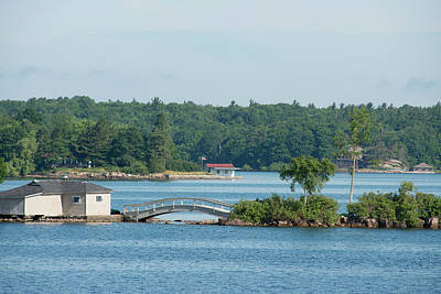 Thousand Islands Photograph - New York, St Lawrence Seaway, Thousand by Cindy Miller Hopkins