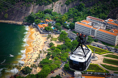 Photograph - Overhead Cable Car by Celso Diniz