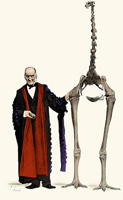 Moa Photograph - Richard Owen, English Paleontologist by Science Source