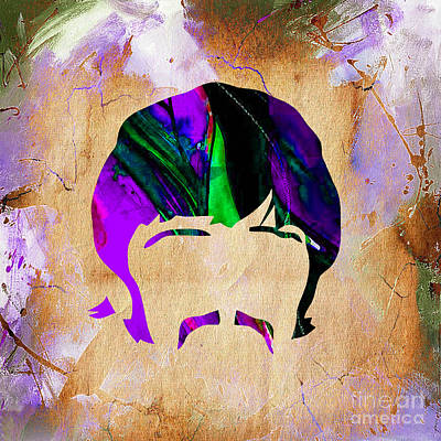Rock And Roll Mixed Media - Ringo Starr Collection by Marvin Blaine