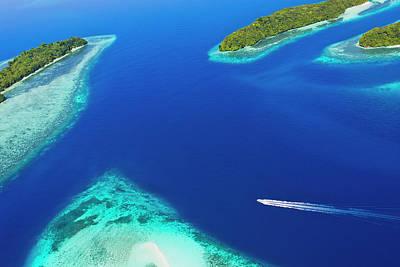 Rock Islands, Palau Print by Keren Su
